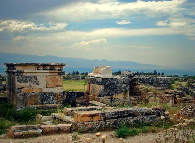Zdj�cia:  Hierapolis , Hierapoils, Hierapolis, TURCJA