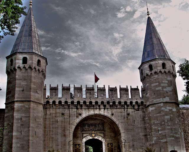 Zdjęcia: Topkapi  pałac w centrum Stambułu, , Stambuł, Topkapi , TURCJA