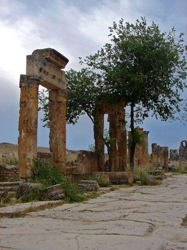 Zdjęcia: Hierapolis, Hierapolis, ..., TURCJA