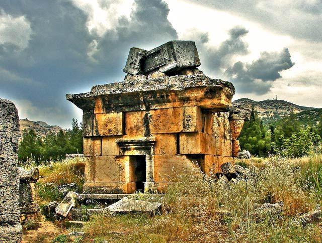 Zdjęcia: Nekropolia, Hierapolis, Nekropolia, TURCJA