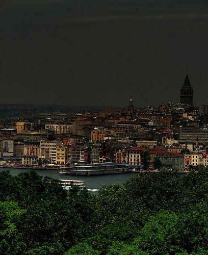 Zdjęcia: Istambuł, Istambuł, nocą, TURCJA