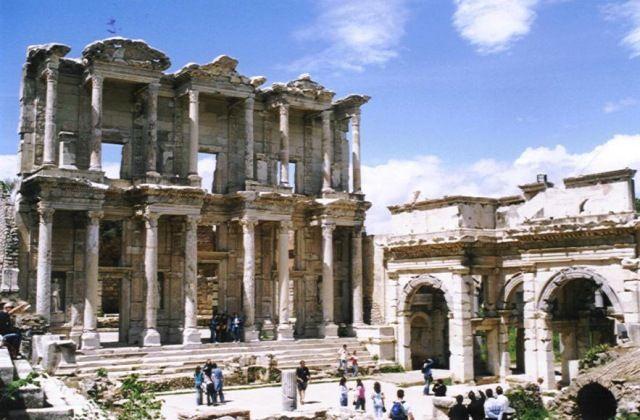 Zdjęcia: Efez, Wybrzeże Egejskie, Biblioteka Celsusa, TURCJA