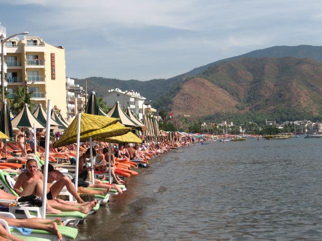 Zdjęcia: marmaris, plaża w marmaris, TURCJA