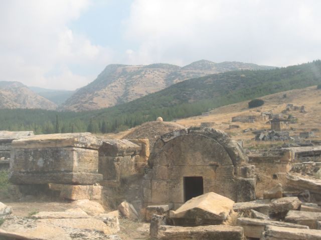 Zdjęcia: starozytne miasto hieropolis, wymarłe miasto, TURCJA