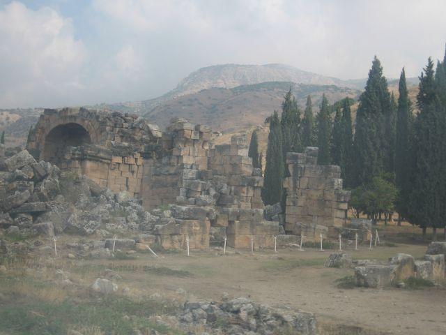 Zdjęcia: starozytne miasto hieropolis, hieropolis wymarłe miasto, TURCJA