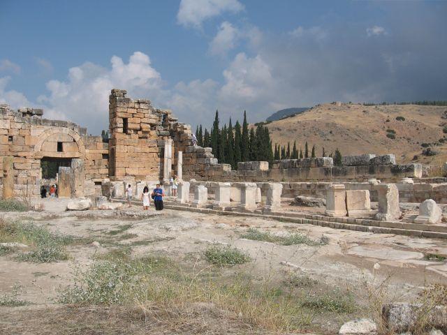 Zdjęcia: starozytne miasto hieropolis, hieropolis, TURCJA