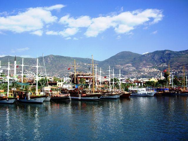 Zdjęcia: Alanya, Riwiera Turecka, Port w Alanyi, TURCJA