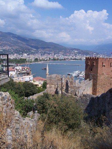 Zdjęcia: Alanya, Czerwona Wieża i wybrzeże Alanii, TURCJA