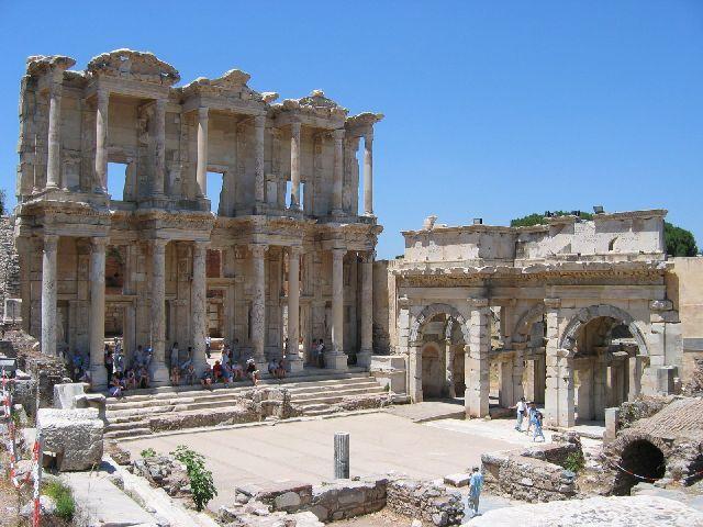 Zdjęcia: Efez, Biblioteka Celsusa, TURCJA