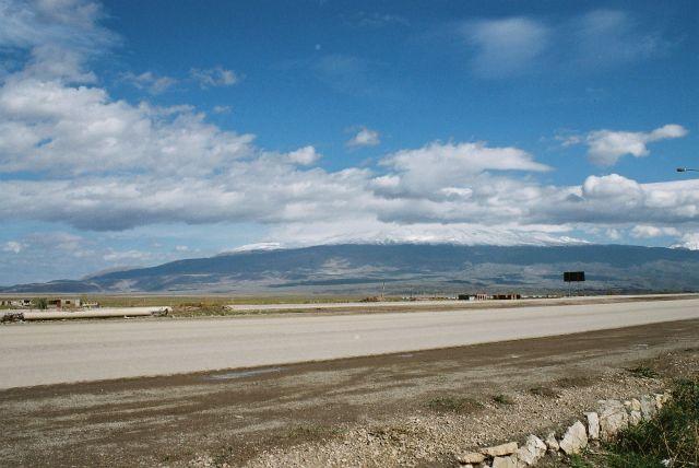 Zdjęcia: okolice góry Ararat, Wschodnia turcja, Widok na ARARAT, TURCJA
