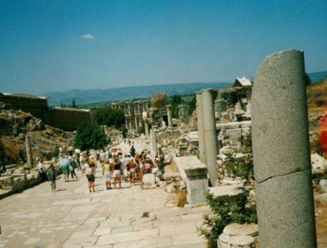 Zdj�cia: Efez, Ephesus- najstarsze miasto staro�ytnej Azji, TURCJA