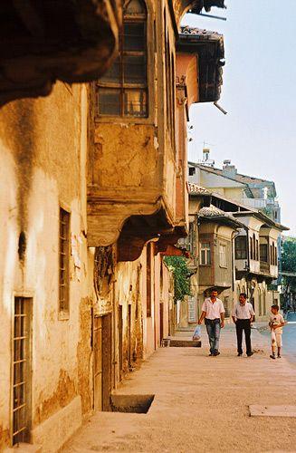 Zdjęcia: Malatya, Wchodnia Turcja, Anatolia, domy w Malatyi, TURCJA