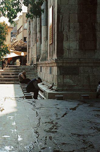 Zdjęcia: Malatya, Wchodnia Anatolia, ablucja przy meczecie, TURCJA