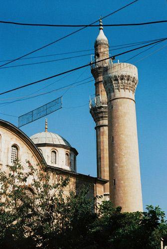 Zdjęcia: Malatya, Wchodnia Anatolia, Nowy Meczet zwany Kamiennym (Tas Cami), TURCJA