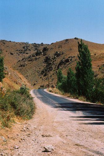 Zdjęcia: okolice Malatyi, Wchodnia Anatolia, droga na Nemrut Dagi, góry Taurus, TURCJA