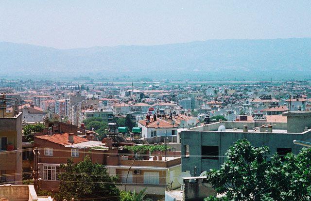 Zdjęcia: Aydin, zachodnia Anatolia, widok na Aydin, TURCJA