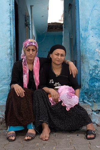 Zdj�cia: Diyarbakir, Wschodnia Anatolia, przyjaci�ki, TURCJA