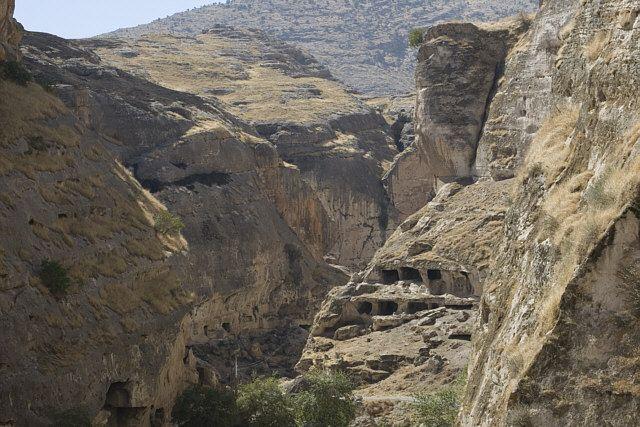 Zdjęcia: Hasankeyif, Wschodnia Anatolia, skalne miasto, TURCJA