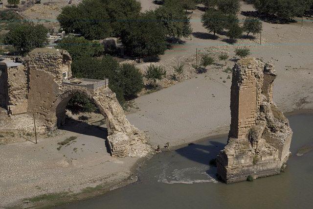 Zdjęcia: Hasankeyif, Wschodnia Anatolia, most na Tygrysie, TURCJA
