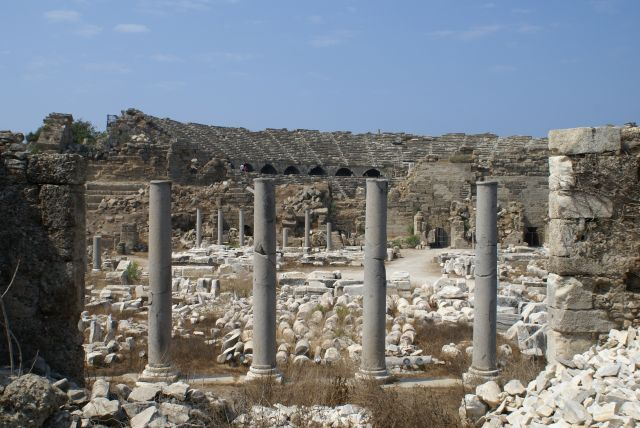 Zdjęcia: Turcja, amfiteatr, TURCJA