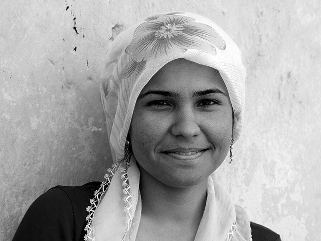 Zdjęcia: Diyarbakir, Wschodnia Anatolia, dziewczyna z Diyarbakiru, TURCJA