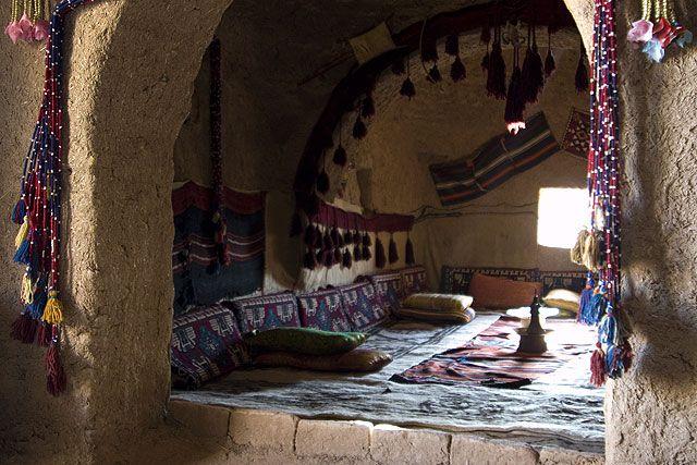 Zdjęcia: Harran, Wschodnia Anatolia, Harran - wnętrze domu - ula, TURCJA