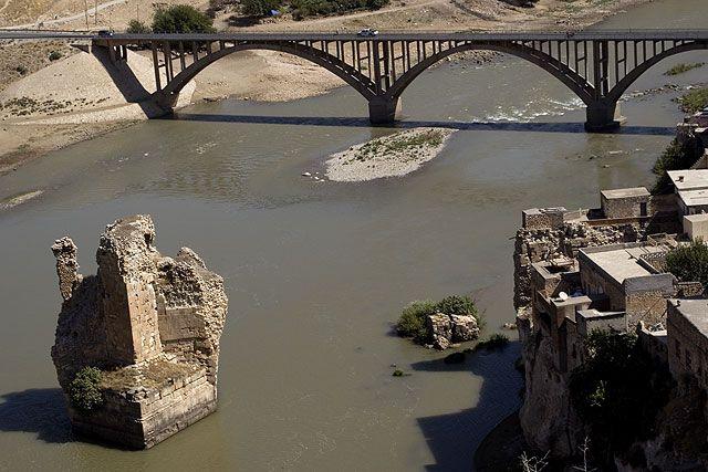 Zdj�cia: Hasankeyif, dwa mosty, TURCJA