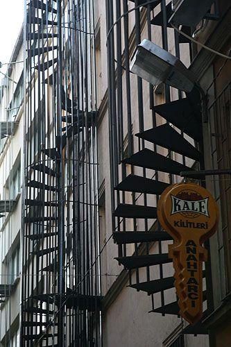 Zdjęcia: Stambuł, schody do nieba..., TURCJA