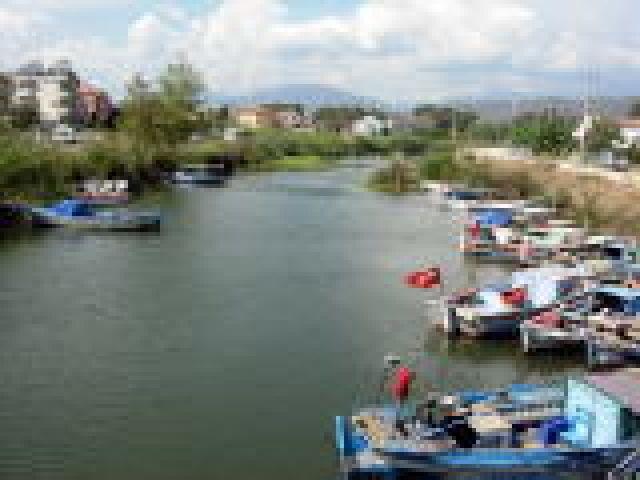 Zdjęcia: Frthiye, Turcja Egejska, przystan tramwajów wodnych, TURCJA