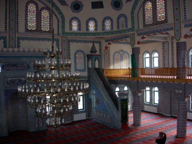 Zdjęcia: Fethiye, Turcja Egejska, W meczecie, TURCJA