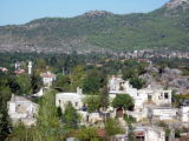 Zdjęcia: Fethiye, Turcja Egejska, kaya koy, wymarłe miasto, TURCJA