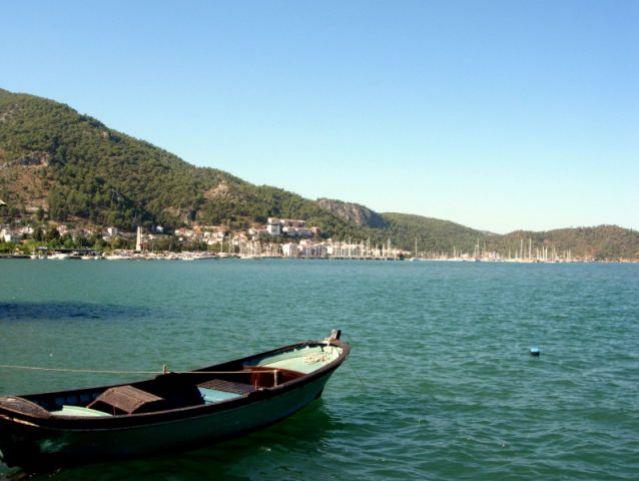 Zdjęcia: Fethiye, Turcja Egejska, łódka, TURCJA