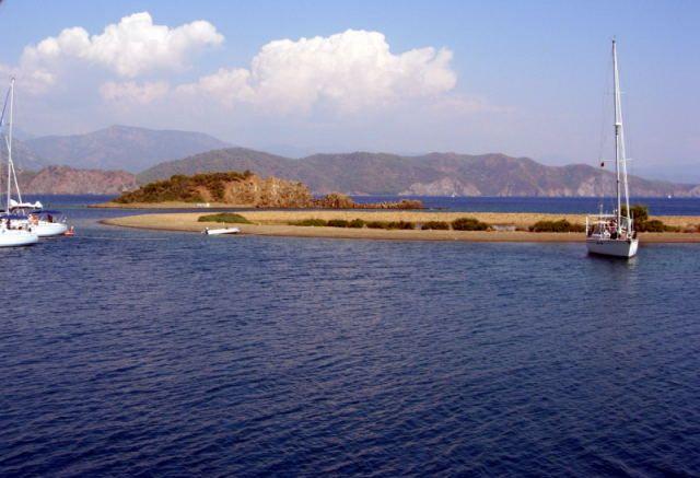 Zdjęcia: Fethiye, Turcja Egejska, na jednej z wysepek, TURCJA