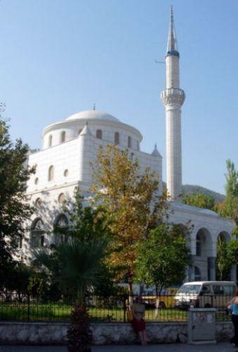 Zdjęcia: Fethiye, Turcja Egejska, biały meczet, TURCJA