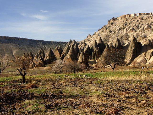 Zdjęcia: kapadocja, Kapadocja, Niezwykłe formacje kapadocji, TURCJA