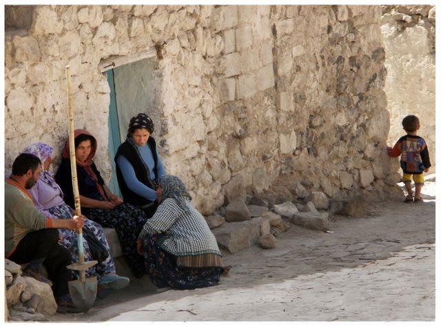 Zdjęcia: kapadocja, Kapadocja, Życie w wiosce kapadocji , TURCJA