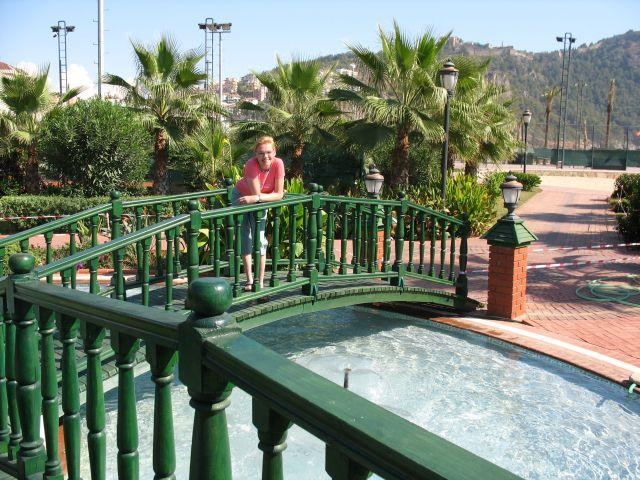 Zdjęcia: Alanya, Park Ataturka w Alanyi, TURCJA