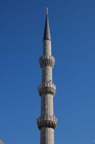 Zdjęcia: Stambul, Minaret, TURCJA
