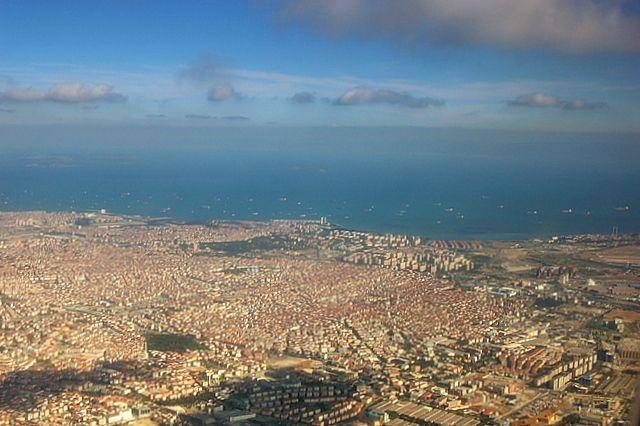 Zdjęcia: Stambul, Stambuł z samolotu, TURCJA