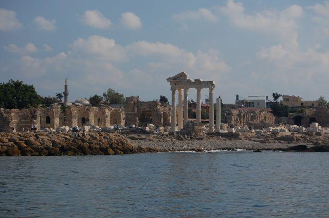 Zdjęcia: Side, Ruiny świątyni Apollina, TURCJA