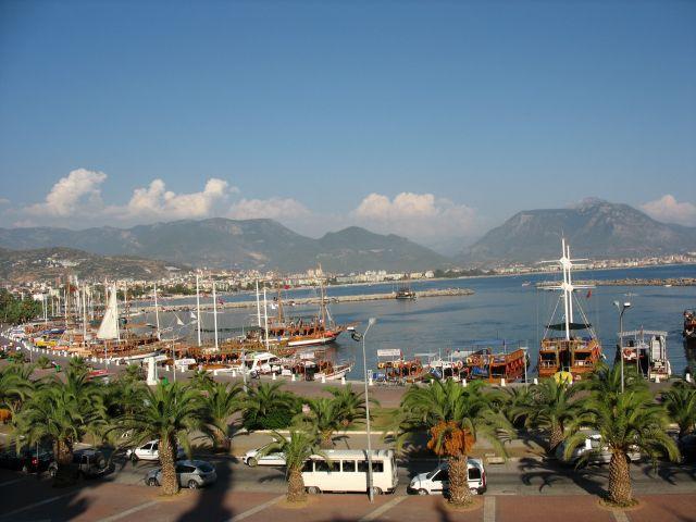 Zdjęcia: Port  w Alanyi, Jeszcze troche Turcji, TURCJA
