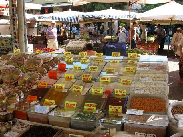 Zdjęcia:  Bazar  w Alanyi, Jeszcze troche Turcji, TURCJA