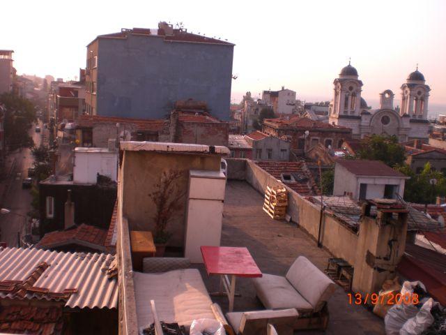 Zdjęcia: Istambuł, Istambuł, widok z dachu, TURCJA