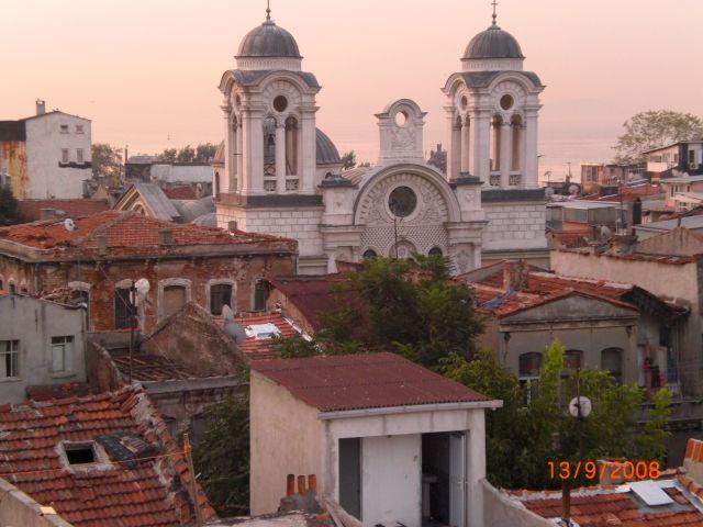 Zdjęcia: Istambuł, Istambuł, dachy o poranku, TURCJA