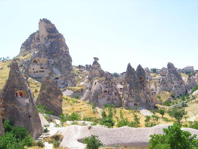 Zdjęcia: Kapadocja, Wydrążone skały kapadocji, TURCJA