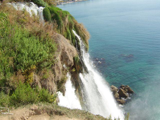 Zdjęcia: Antalya, Riwiera Turecka, Wodospad, TURCJA