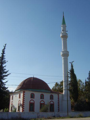 Zdjęcia: okolice Antalii, Riwiera Turecka, Meczet, TURCJA