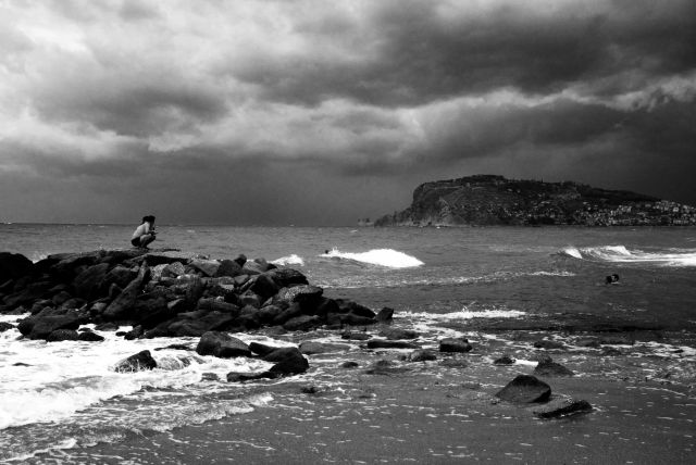Zdjęcia: Alanya, Zbiera się na burzę, TURCJA