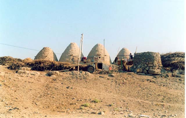 Zdjęcia: Harran, Harran - domy ule, TURCJA