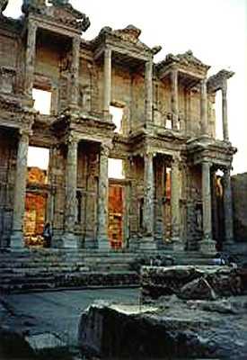 Zdjęcia: Efez, Biblioteka w Efezie, TURCJA